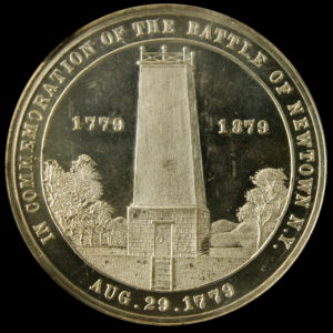 HK-124 1879 Battle of Newtown Centennial SCD