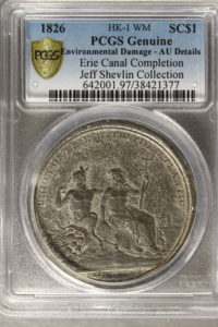 HK-1 1826 Erie Canal Completion SCD