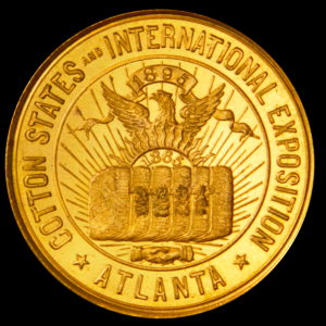 HK-268 Cotton States & International Exposition Official Medal