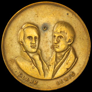 HK- 1905 Lewis and Clark Facing Busts SCD