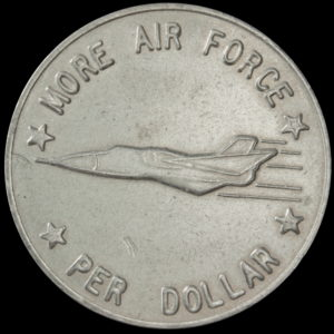 HK-749 VARIETY 1958 Conviar More Air Force Per Dollar SCD