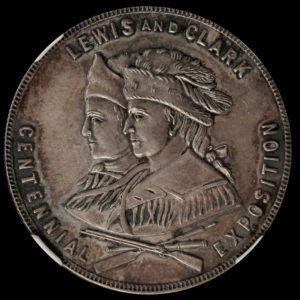 HK-333C 1905 Lewis and Clark No date SCD