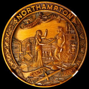 HK-705 1954 Northampton Massachusetts Tercentenary SCD