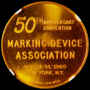 HK-751B 1960 Marking Device New York City SCD