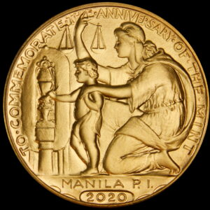 Fellowship Gathering 2020 Wilson Dollar Reverse – Brass
