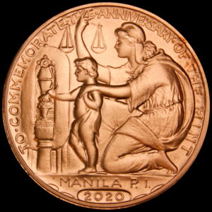2020 COPPER Wilson Dollar 100 Year Anniversary Medal