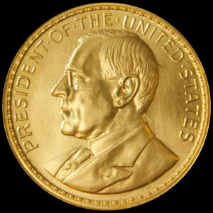 2020 GOLD Wilson Dollar 100 Year Anniversary Medal