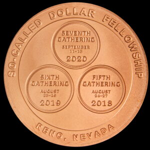 Fellowship Gathering 2020 Wilson Dollar Reverse – Copper