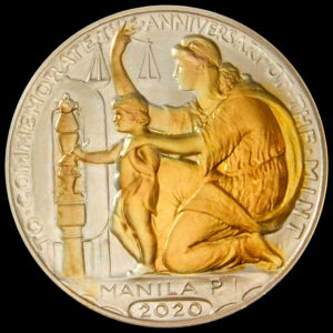 Fellowship Gathering 2020 Wilson Dollar Reverse – Silver Select Gold-Plated