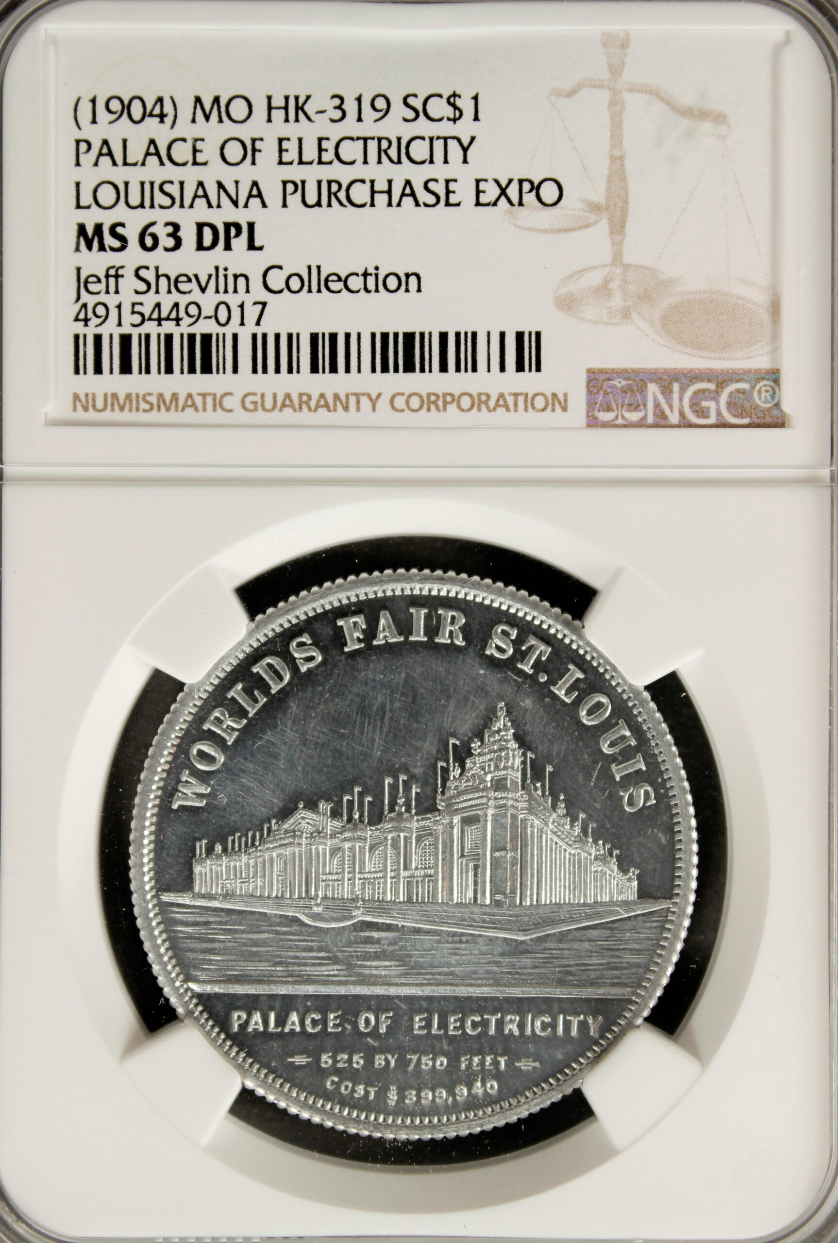 HK-319 Louisiana Purchase Schwaab Electricity / Fraternity SCD