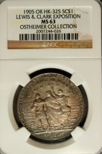 HK-325 1905 Lewis and Clark Exposition Official SCD