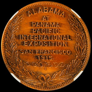 HK-402 1915 Panama-Pacific International Exposition Alabama State SCD