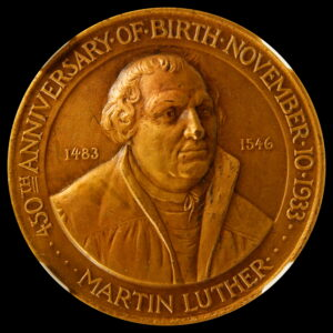 HK-472 1933 Century of Progress Martin Luther SCD