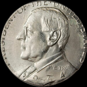 2020 Wilson Dollar over-struck on a 64 Kennedy Silver Half Dollar