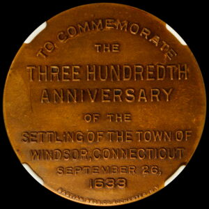 HK-688 1933 Windsor Connecticut Tercentennial SCD