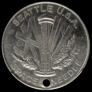 1962 Seattle Space Needle / Good Luck SCD
