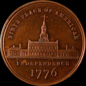 Centennial Small Independence Hall / Star