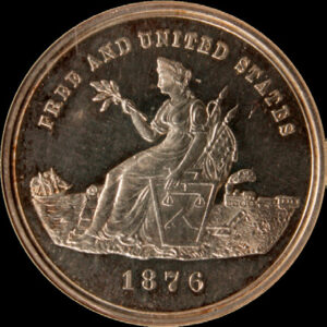 Centennial Seated Liberty / American Colonies