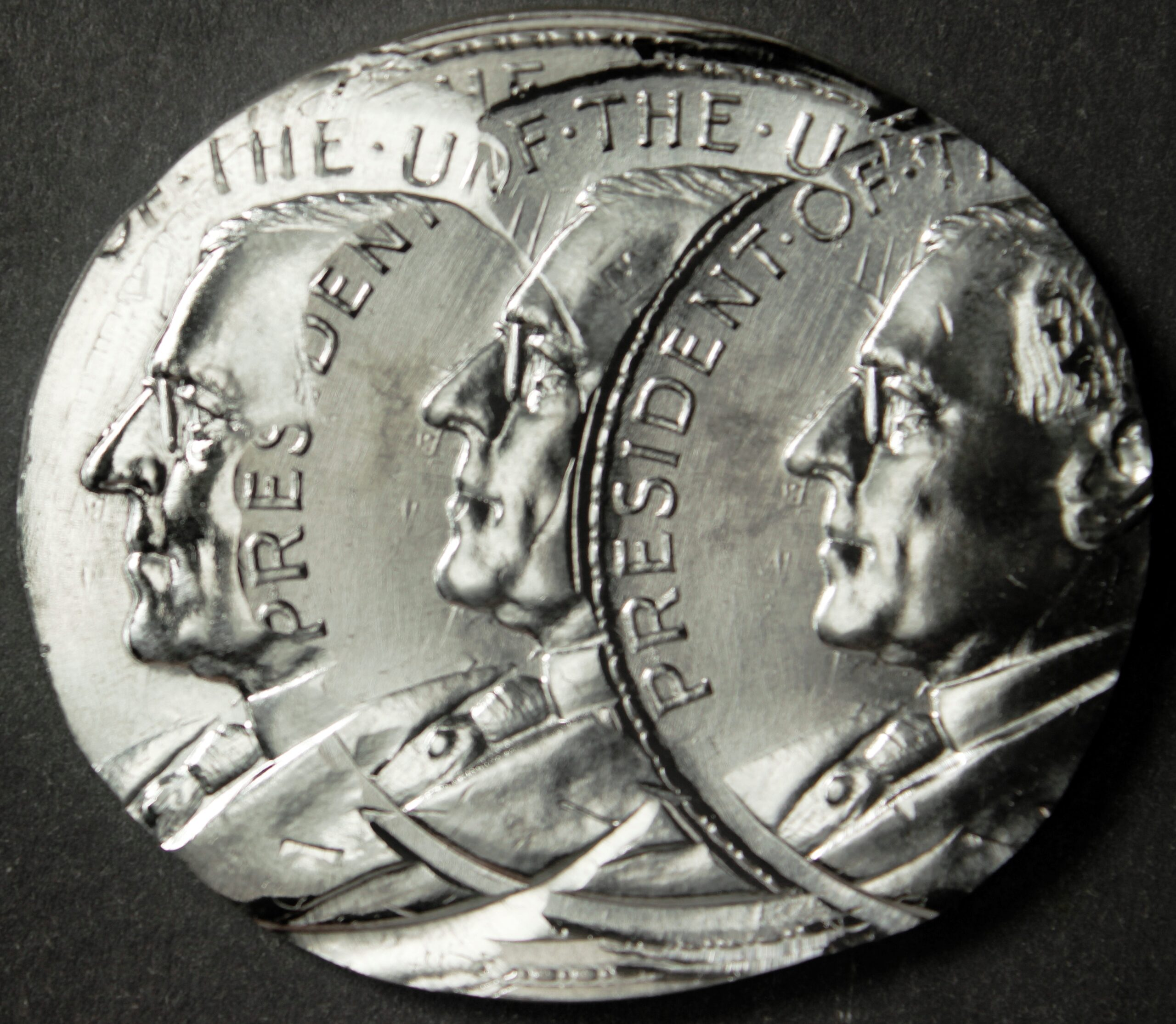 2020 Wilson Dollar Error – Silver Triple Struck Off-Center