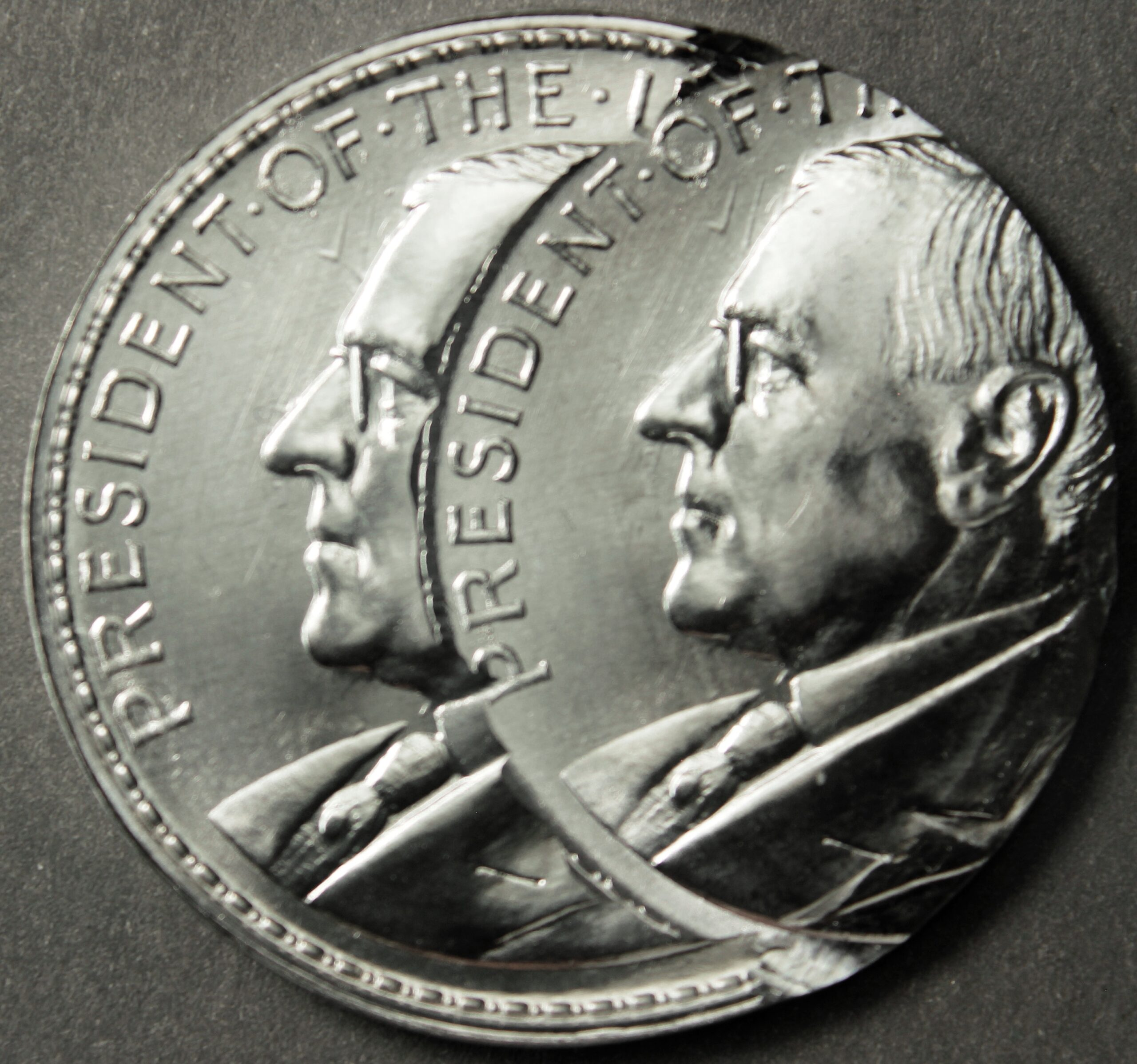 2020 Wilson Dollar Error – Aluminum Double Struck Off-Center