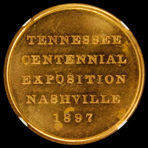 HK-274 Tennessee Centennial Exposition Official Medal