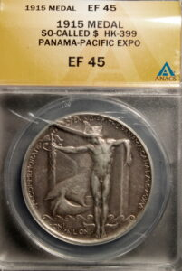 HK-399 1915 Panama Pacific International Exposition Official SCD