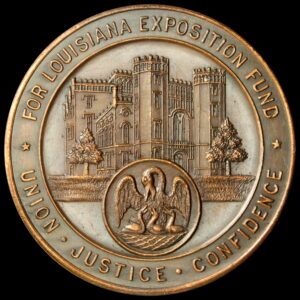 HK-406 1915 Panama-Pacific International Exposition Louisiana State SCD