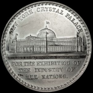 HK-6 1853 New York Crystal Palace Official SCD