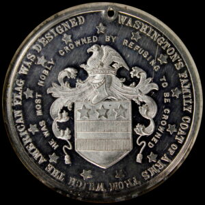 HK-135 1883 Washington's Headquarters at Newburgh and Coat of Arms SCD