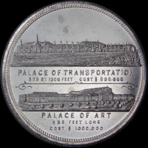 HK-321 Louisiana Purchase Schwaab Industries / Transportation & Art SCD – complete set of five medals