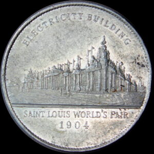 HK-322C 1904 Louisiana Purchase Lauer Industries / Electricity SCD