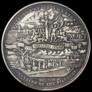 HK-156 1893 Columbian Exposition Declaration of Independence Silver SCD