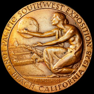 1928 Pacific Southwest Exposition Award Medal