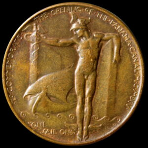 HK-400 1915 Panama-Pacific International Exposition Official Bronze SCD