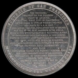 HK-255 1894 Exposition View / San Francisco Facts – Schwaab SCD