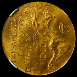 HK-289 1901 Pan-American Exposition Official SCD