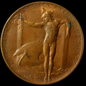 HK-400 1915 Panama-Pacific International Exposition Official SCD – bright bronze